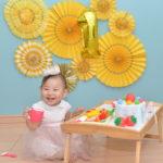 1歳の誕生日の祝い方 えがお先生の娘が1歳を迎えました。