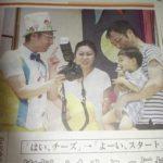 新潟日報にスマイルフォト撮影会の様子が掲載されました。